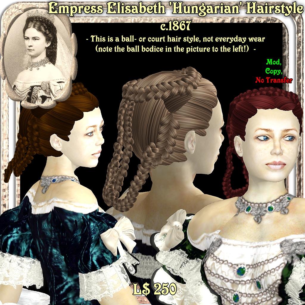 Empress Elisabeth Hairstyle1
