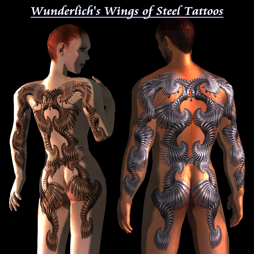 Tattoo can be worn by male